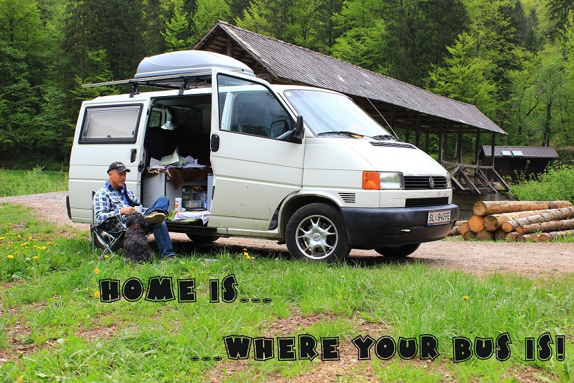 Home is where your bus is