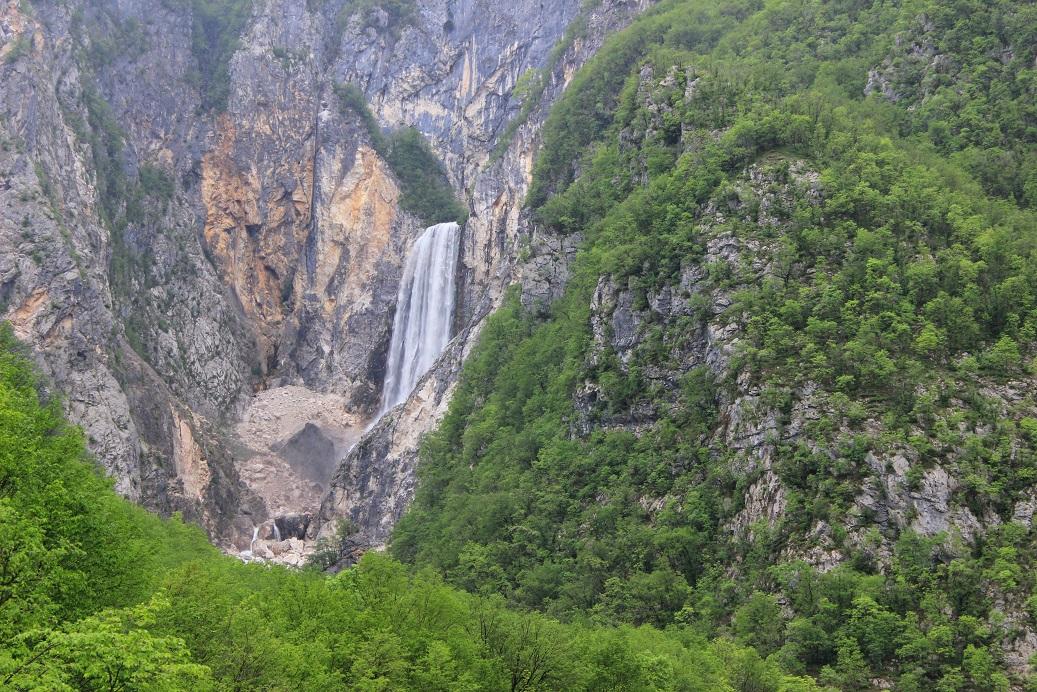 Es geht weiter durch das Sočatal, oder italienisch Isonzotal.