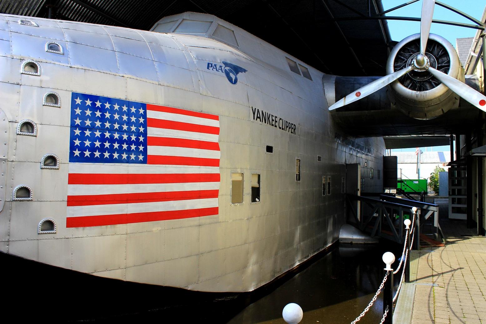 Foynes, Flugbootmuseum, Boeing 314, Yankee Clipper