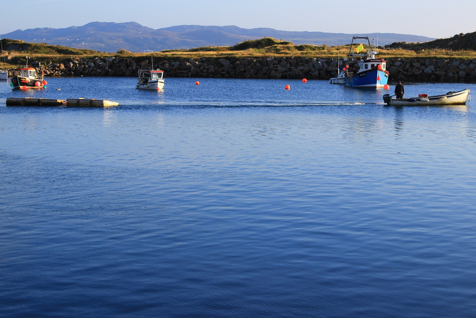 Irland Donegal County Burtonport