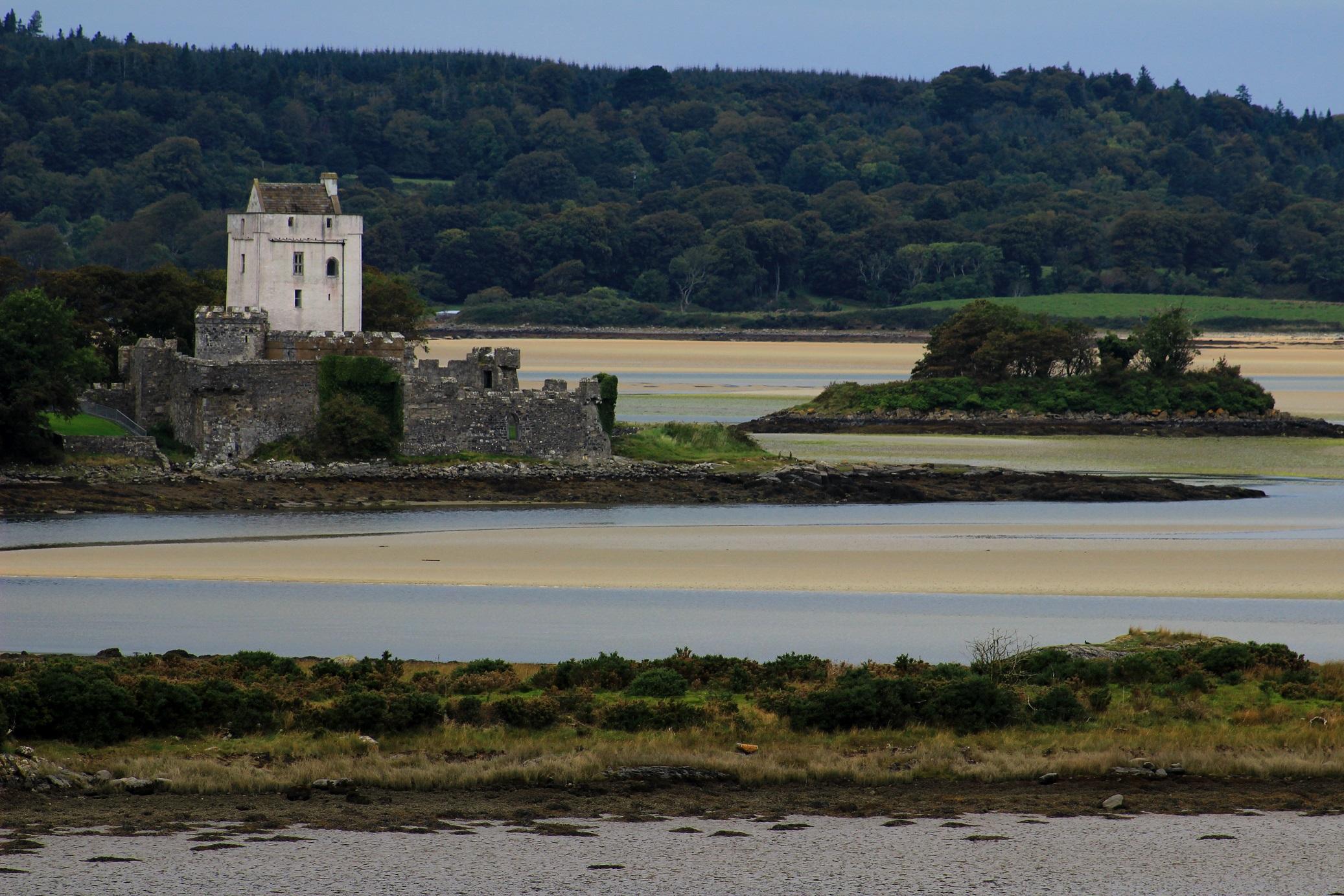 Irland Donegal Doe Castle Sheephaven